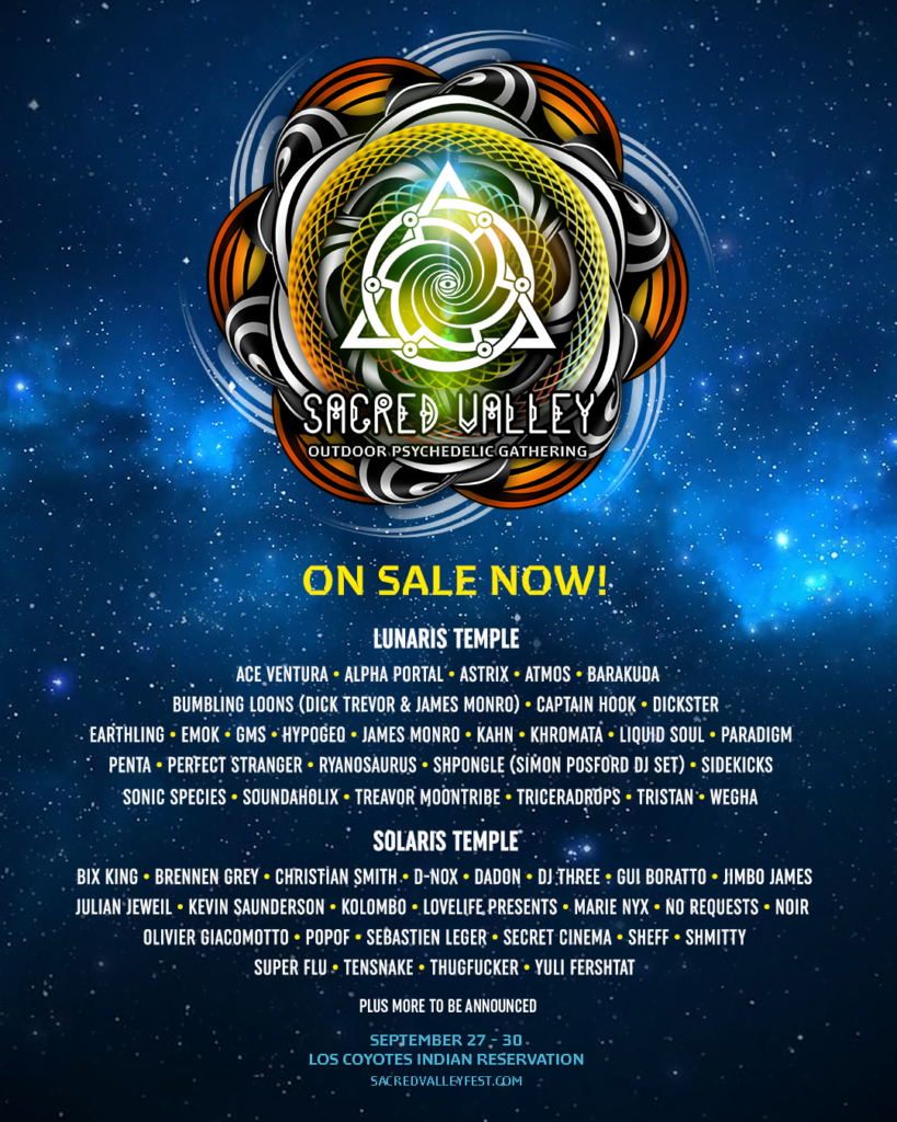 Sacred Valley Gathering Lineup
