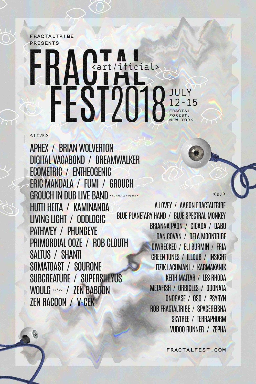 Fractal Fest Lineup