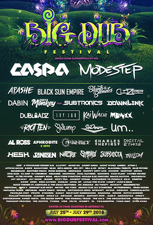 Big Dub Festival Lineup