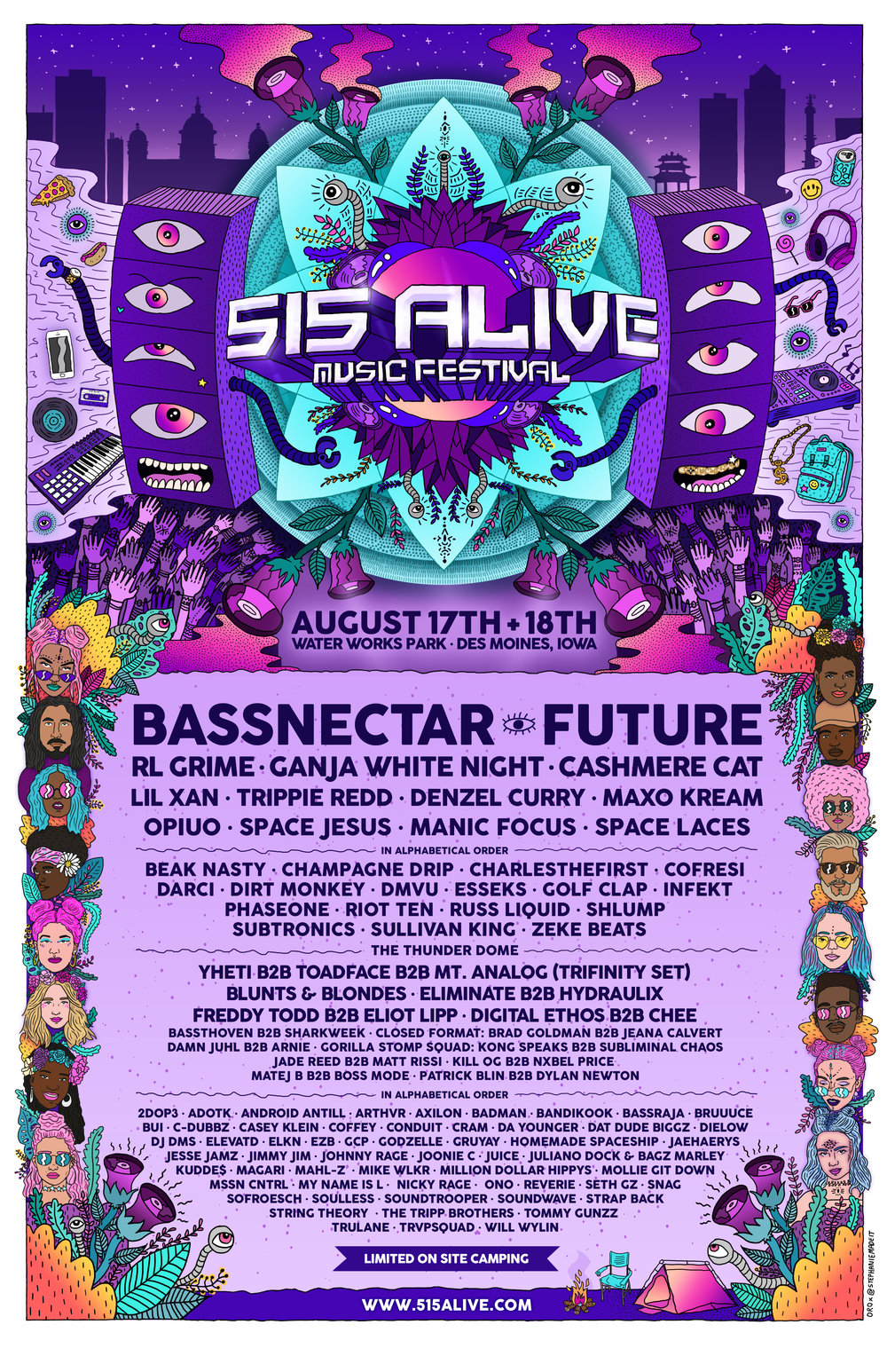 515 Alive Music Festival Lineup