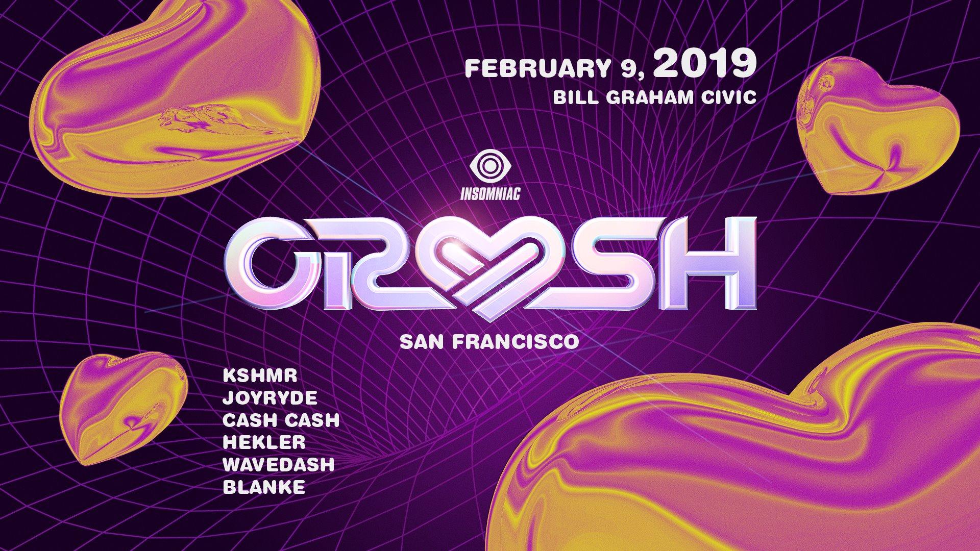 Crush SF Lineup