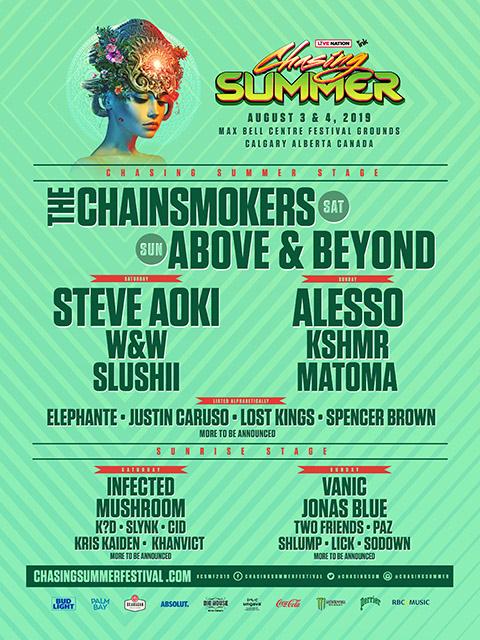 Chasing Summer Lineup