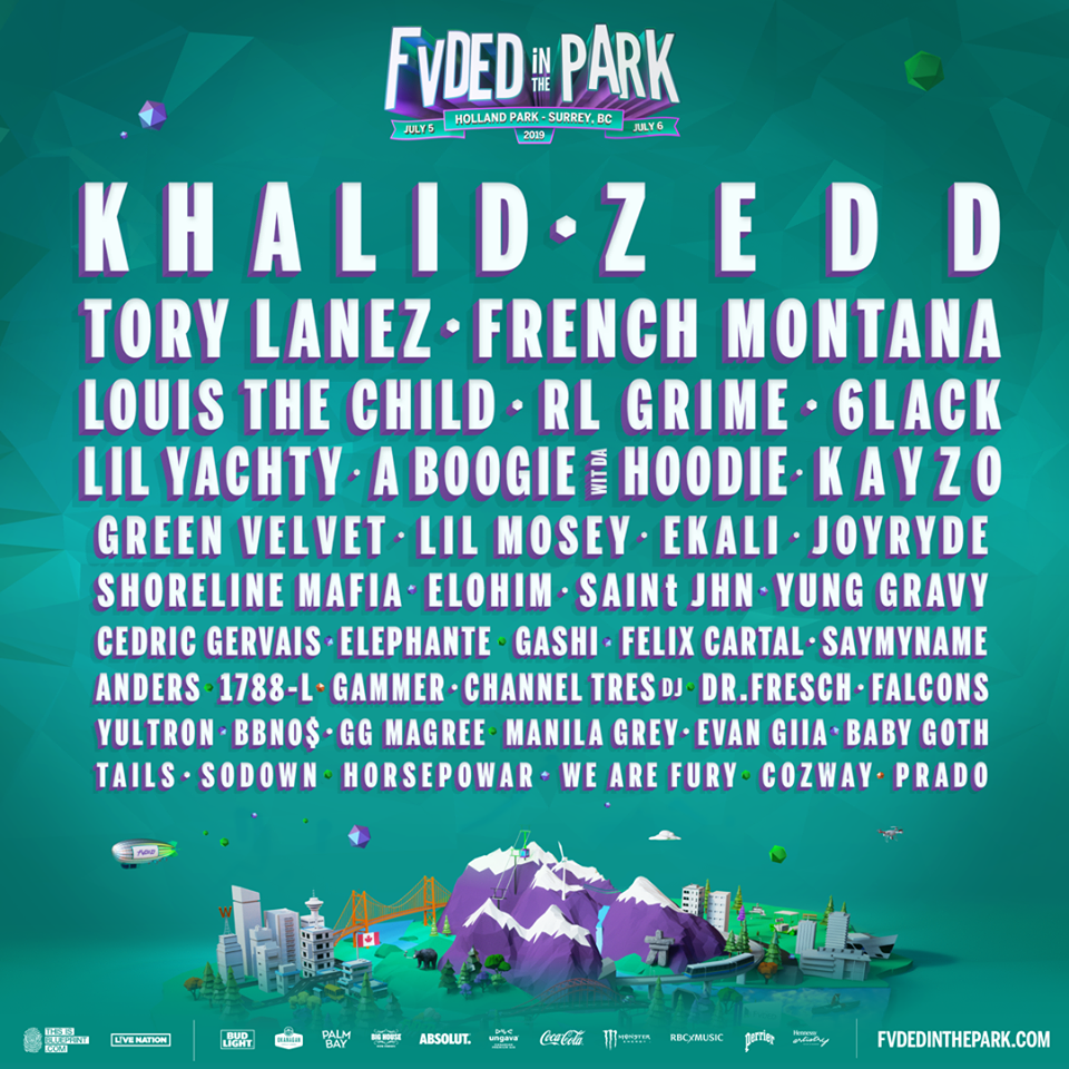 Fvaded in the Park Lineup
