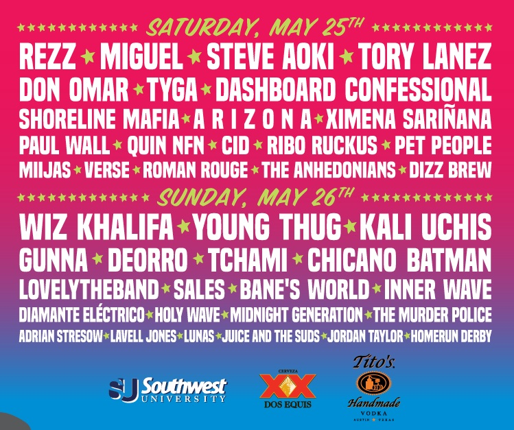 Neon Desert Music Festival Lineup