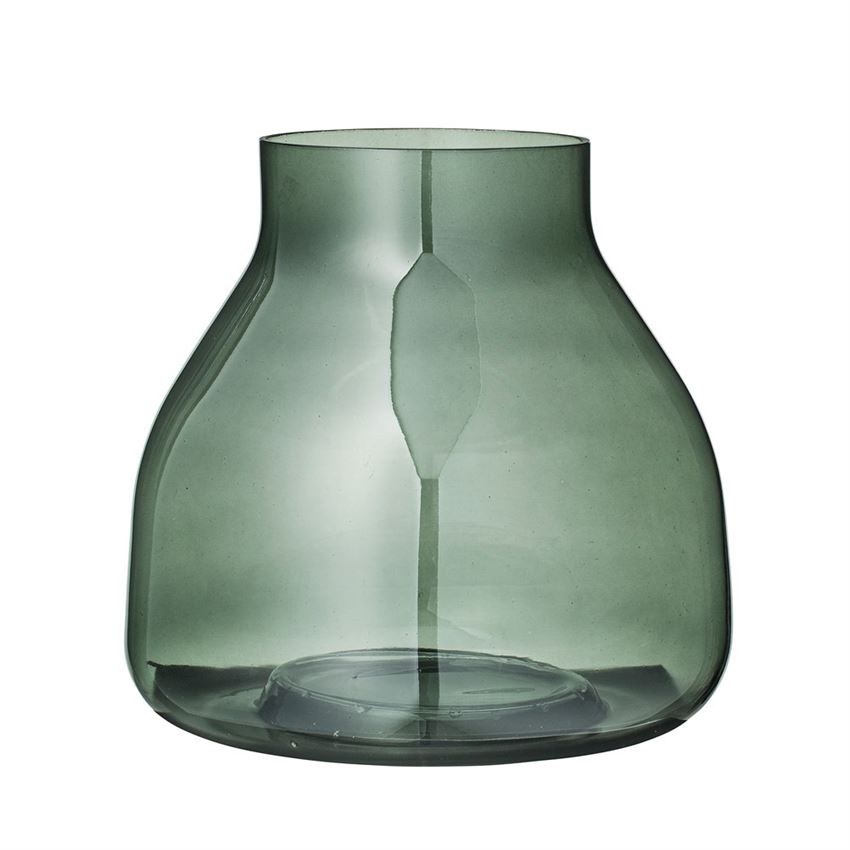 "Green Jar Vase 8""  4 Available / $12 ea."