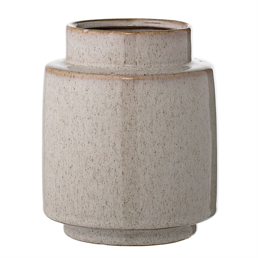 Natural Ceramic Vase  12 Available / $8 ea