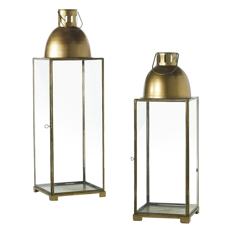 "Gold Lanterns 18""-24""  2 Available / $25 ea."