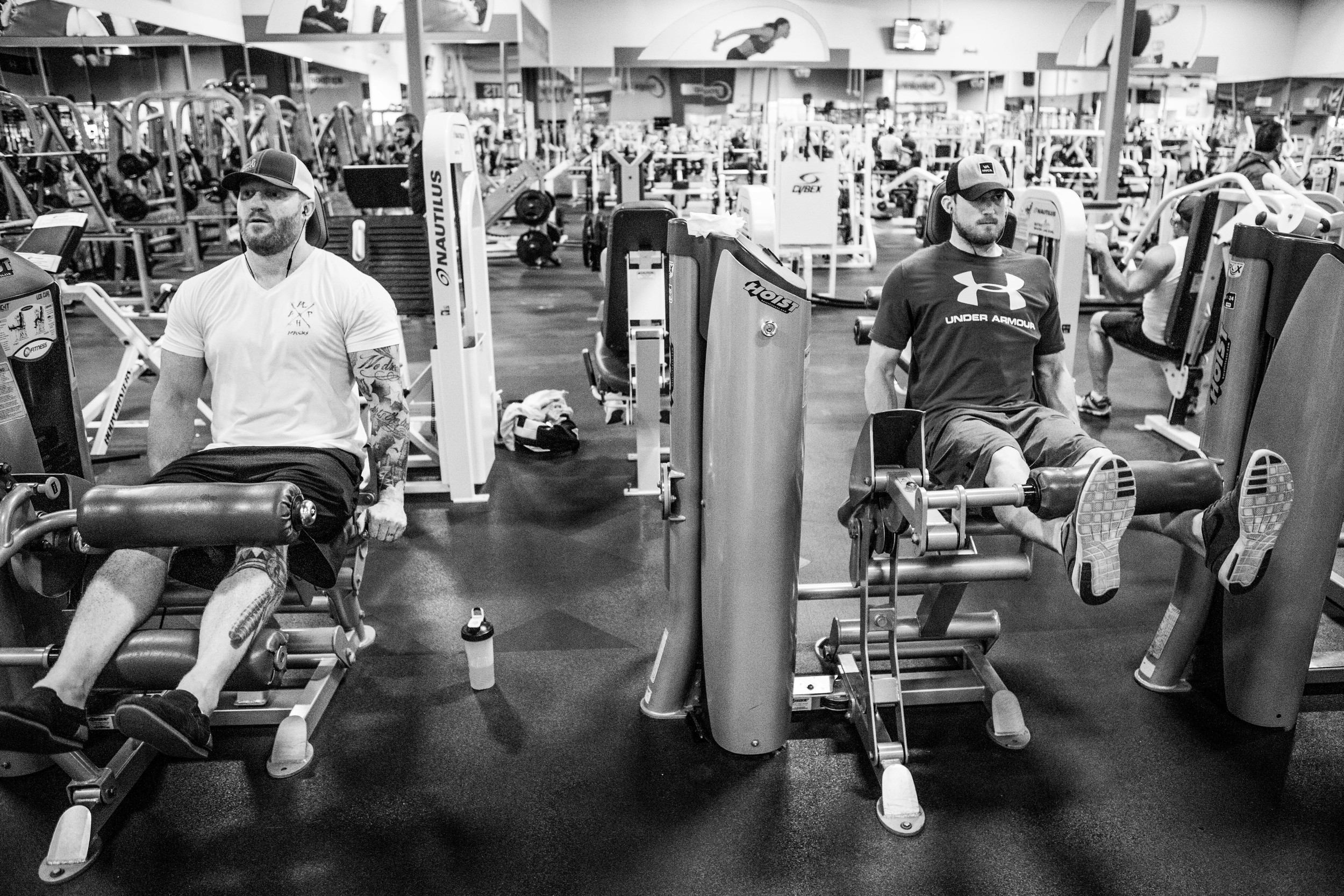 Evan's workouts and time as an athlete have been integral to his successes post-injury.