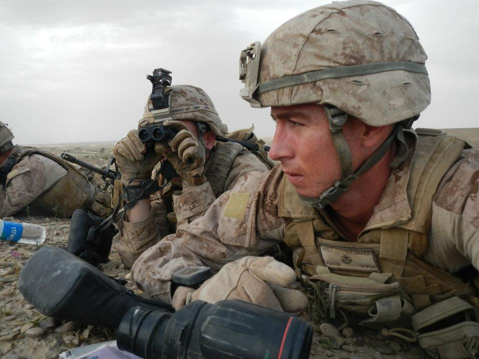 Captain O'Malley in Afghanistan