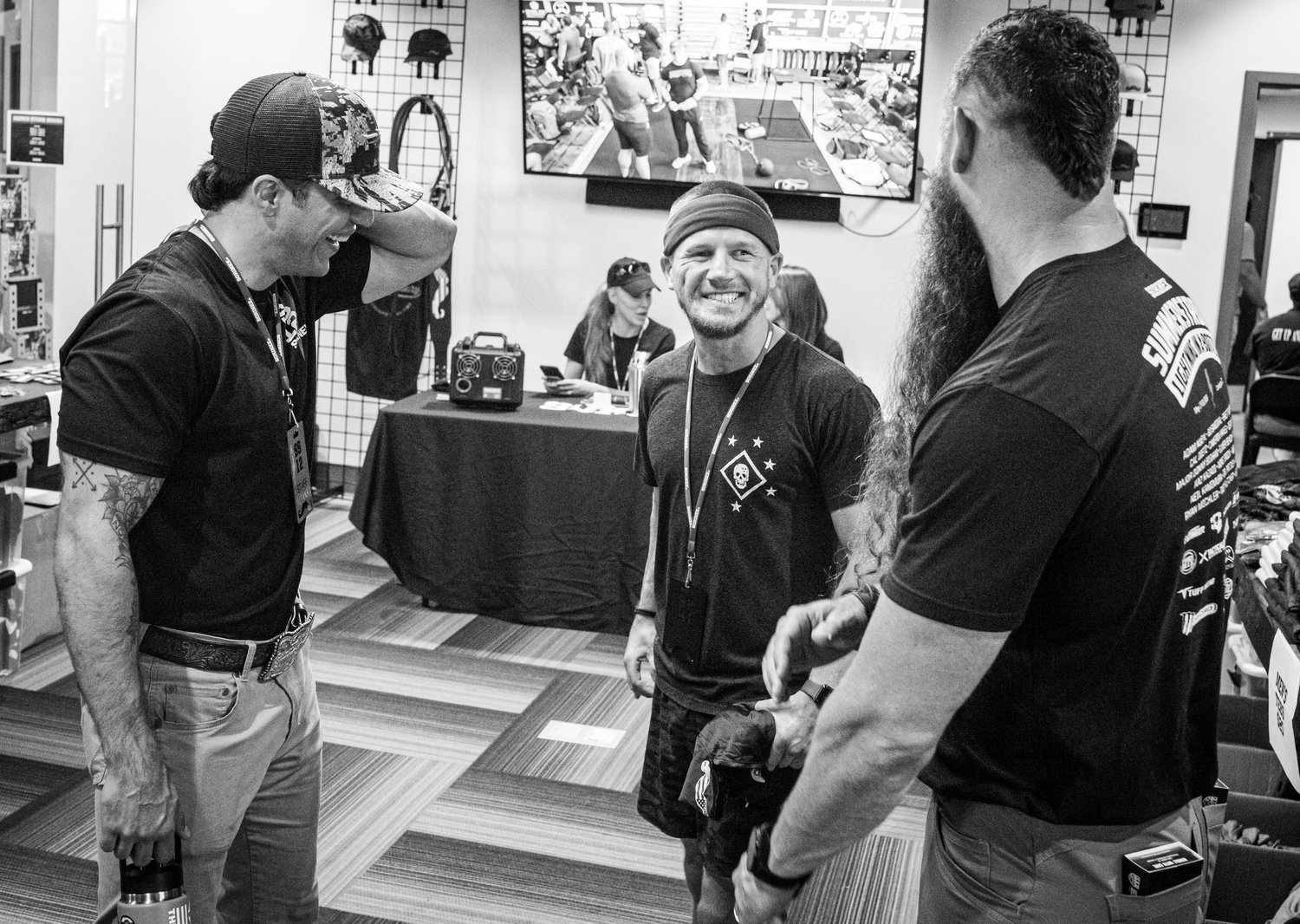 Brady and Bert Sorin with Kyle Carpenter (Instagram: @chiksdigscars), MOH Recipient.