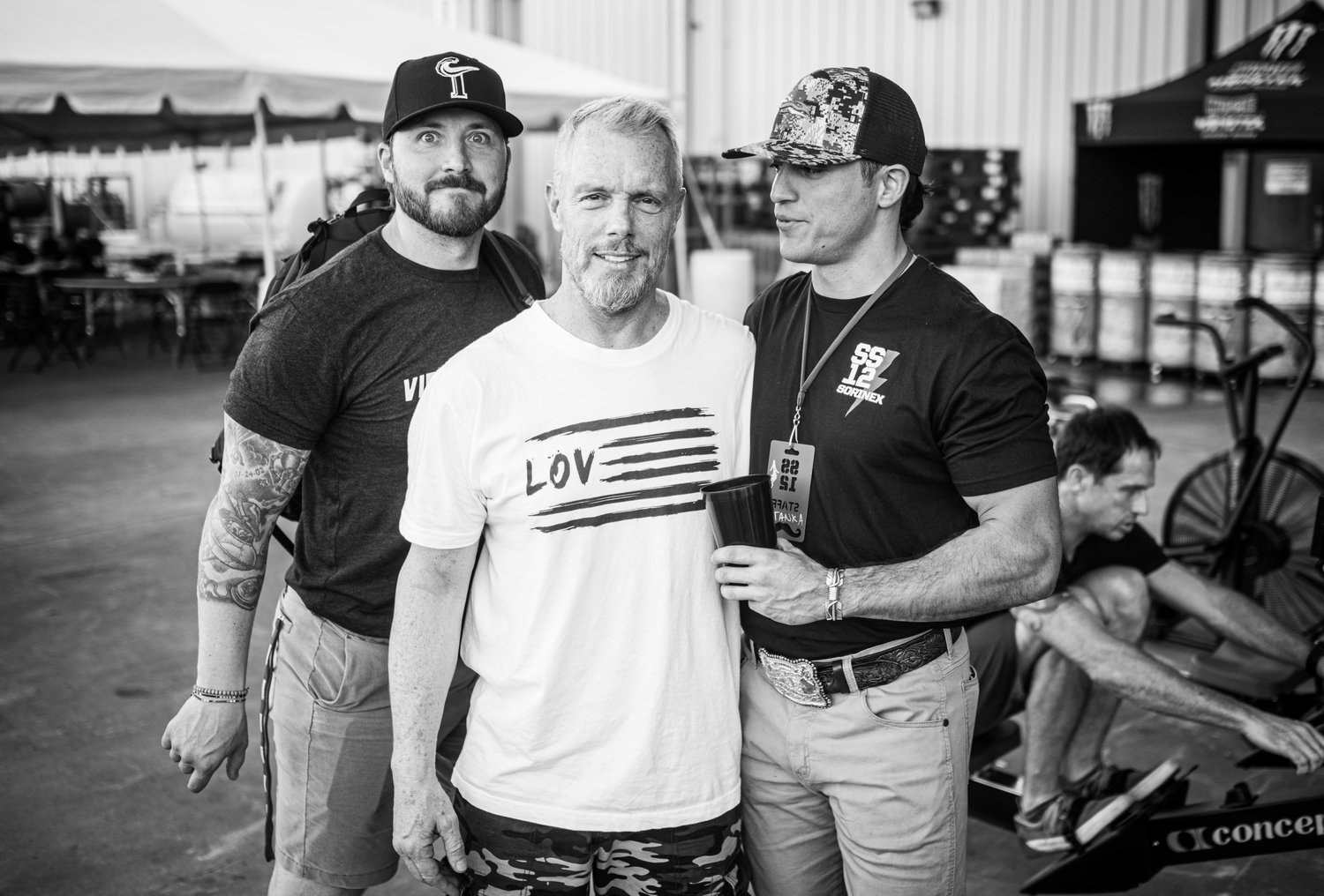 Brady with Gunnar Peterson (IG: @gunnarfitness) and Vernon Griffith (Co-Founder Virginia High Performance)