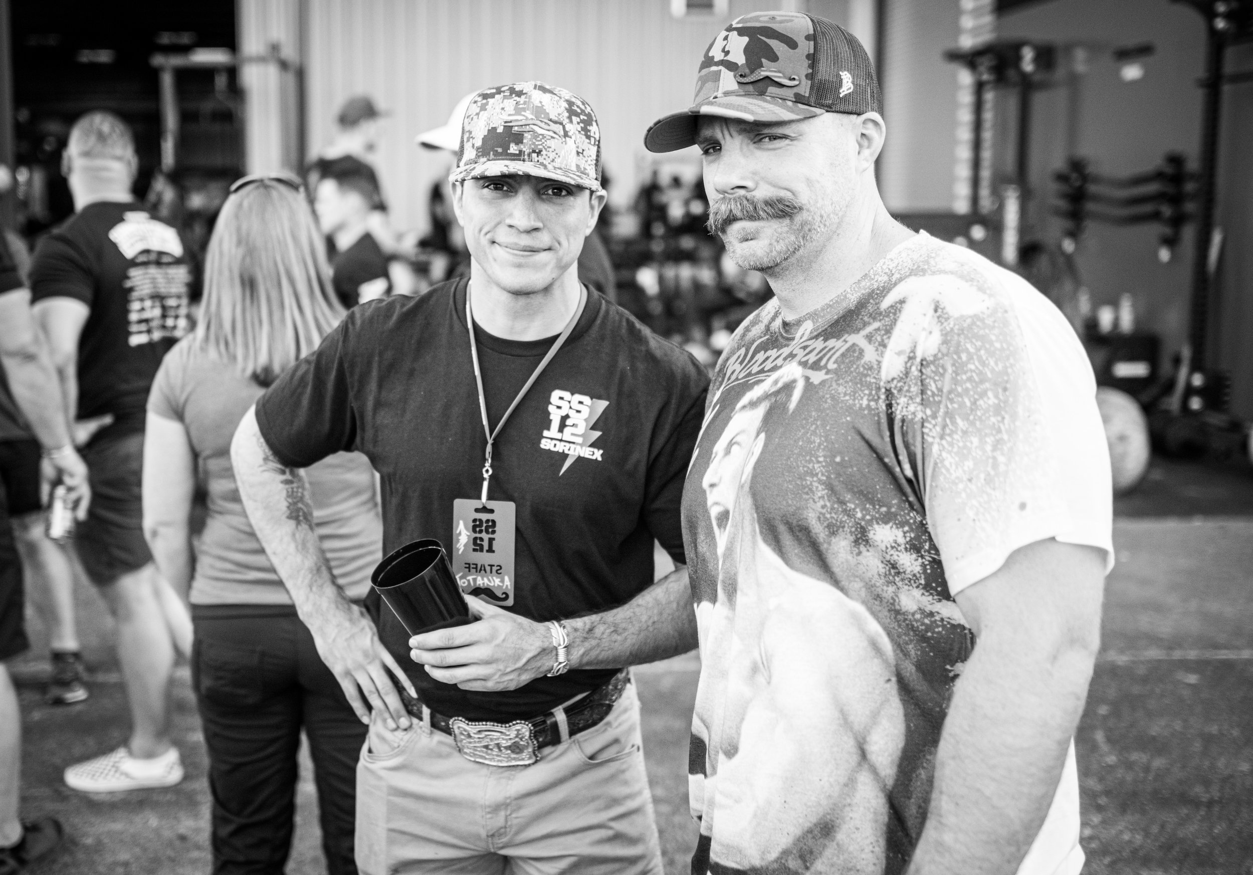 Brady and good friend, Adam Kuehl (IG: @adam_dutch) who was a Guest Speaker at Summer Strong and is the head of Government Training and Solutions at Sorinex.