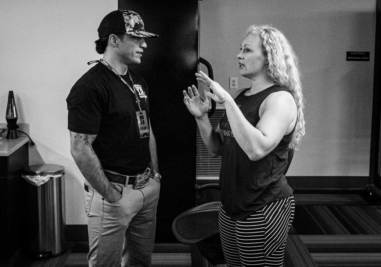 Brady speaks to his friend, Ingrid Marcum (IG: @theironvalkyrie) who is the owner of BGB Fitness Studio and a motivational speaker who's worked with top athletes all over the country.