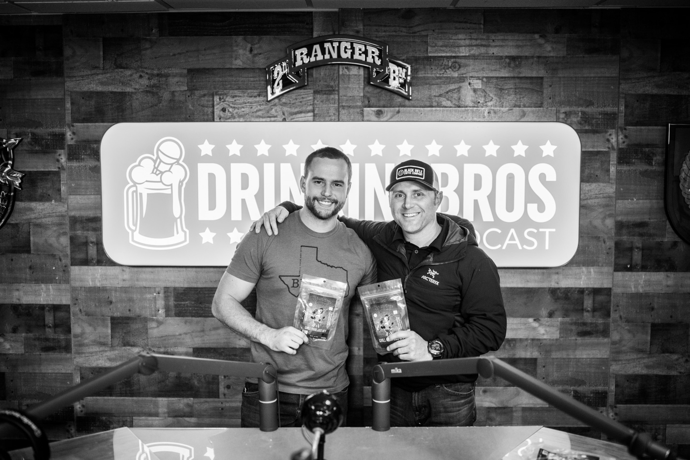 """Evan with """"Grill Your Ass Off"""" founder, Jason Murff."""