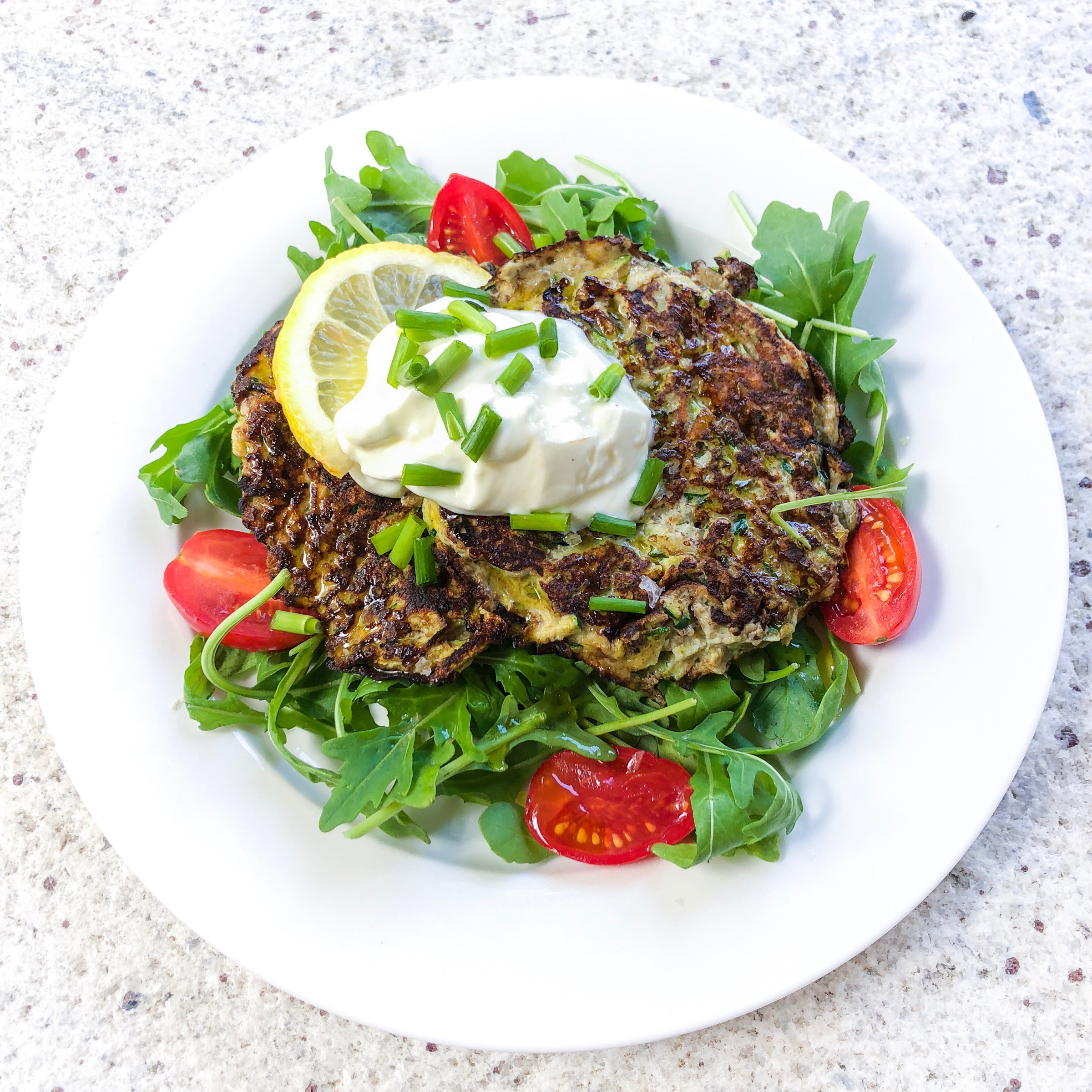 5 Ingredient Keto Zucchini Fritters