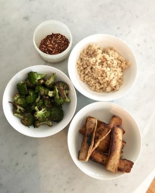 Asian styled marinated tofu 3