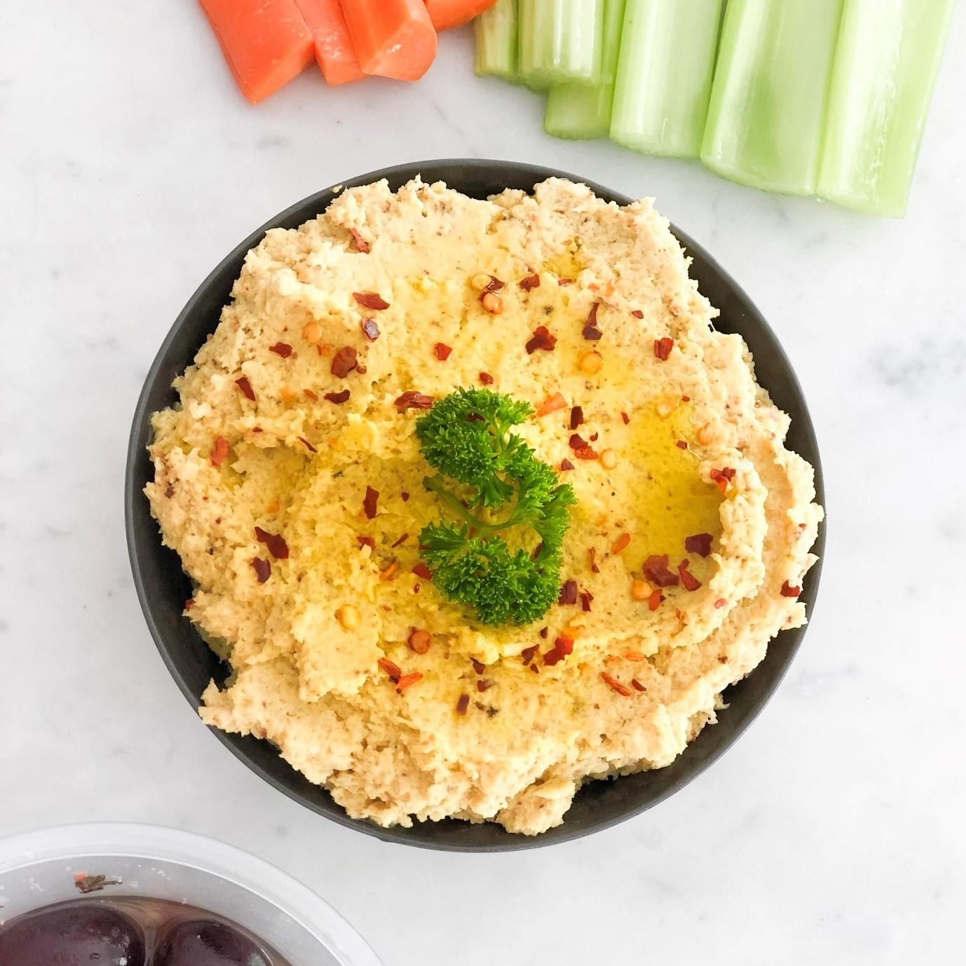 Healthy hummus recipe 2