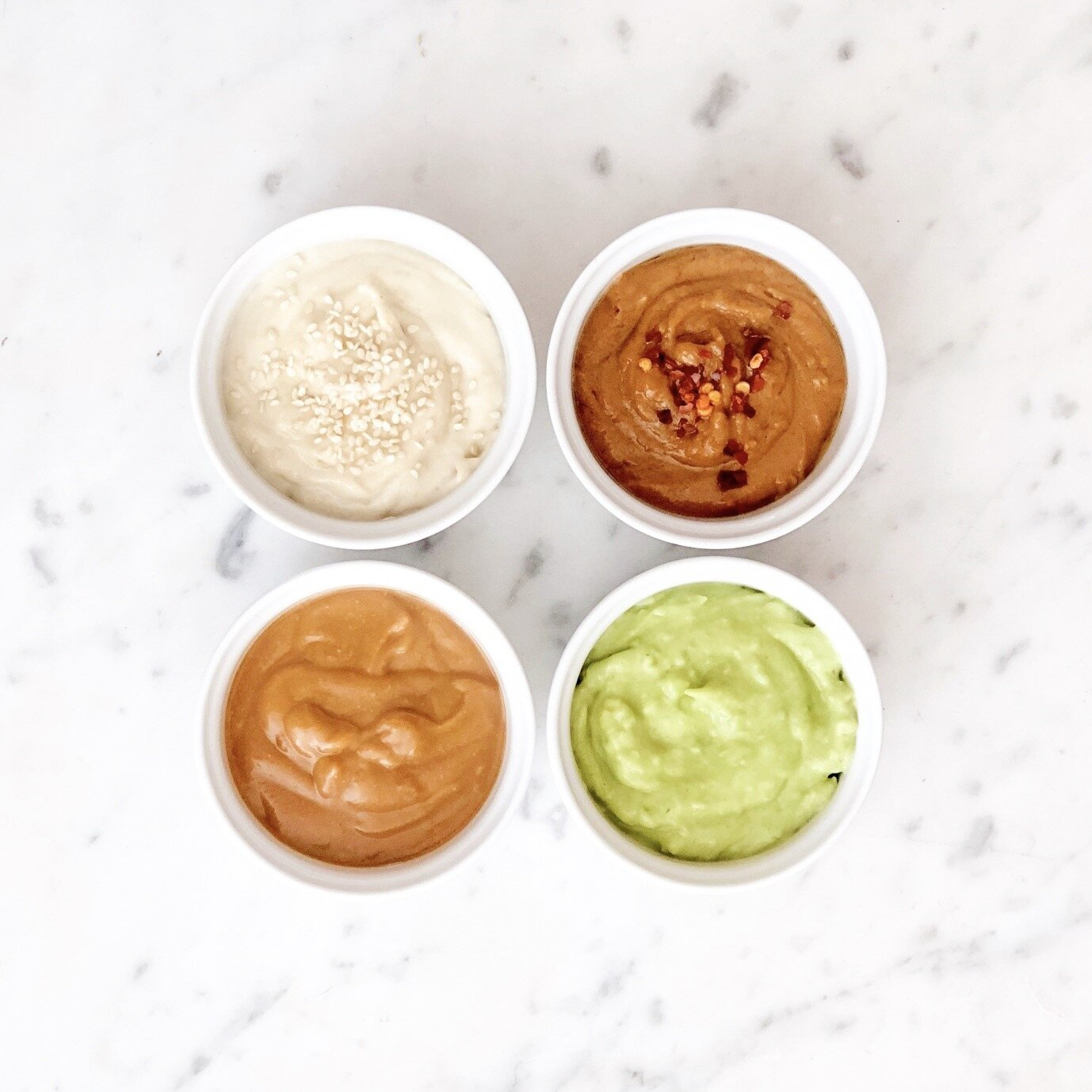 4 Favourite Creamy Salad Dressings
