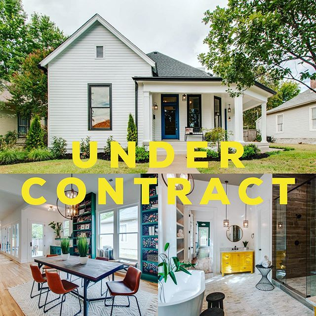 After successfully navigating a multiple offers situation I'm beyond happy to get one of my oldest friends #undercontract on this beautiful, fully renovated, East Nashville property renovated by the amazing @allthingskortneywilson.  IF you're looking for what's on the market in East, I've lived here for 10 years and know the area very very well. Please reach out about any and all questions you have. Cheers!!
