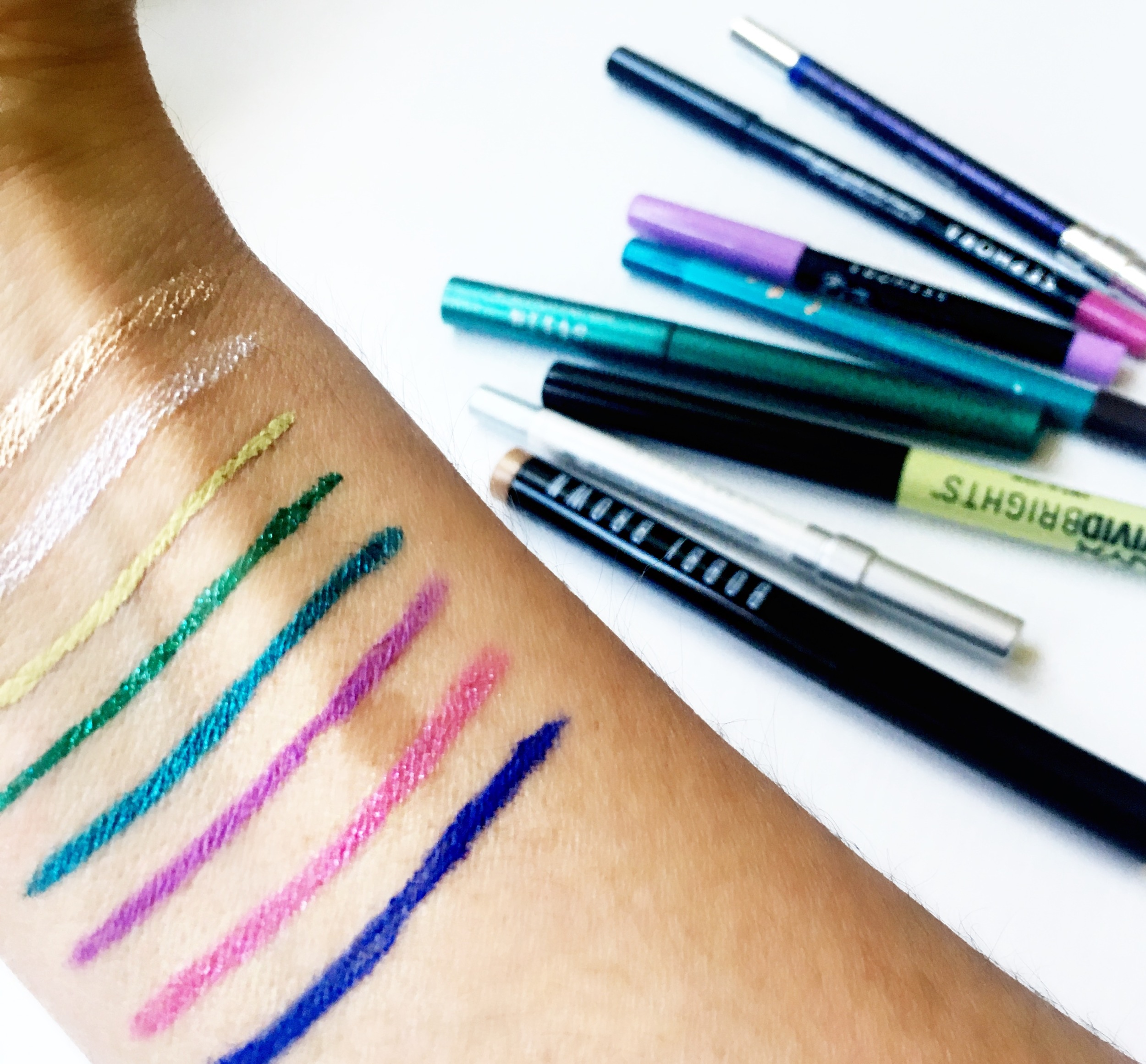 My go-to eyeliners for summer
