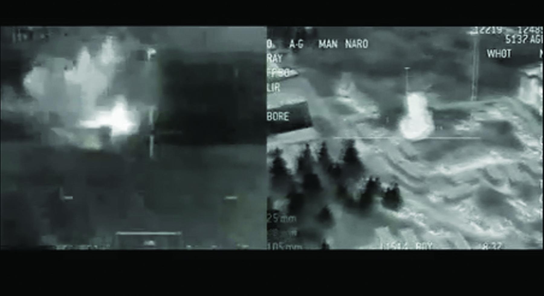 Josh Bricker, Post Newtonianism (War Footage/Call of Duty 4 Modern Warfare) ,2010,Digital video, sound, color,5' 32''