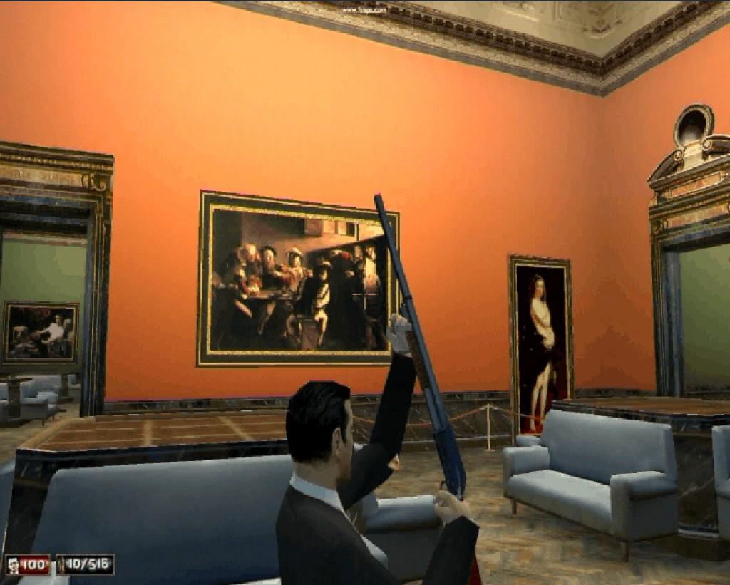 "Michiel van der Zanden, Pwned Paintings #1 ,2006,HD video, color, sound,01' 10"""