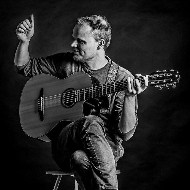 Pål Are Bakksjø, playing a concert for me and the camera. Sometimes it easier to have to people to what they do ;) _____________________________________ #koreapanel #bodø #studiophotography #onelightsetup #nikon #d700 #kstudios #portrait #portraitphotography #musician #guitar #bw #blackandwhite #svarthvitt #monochrome