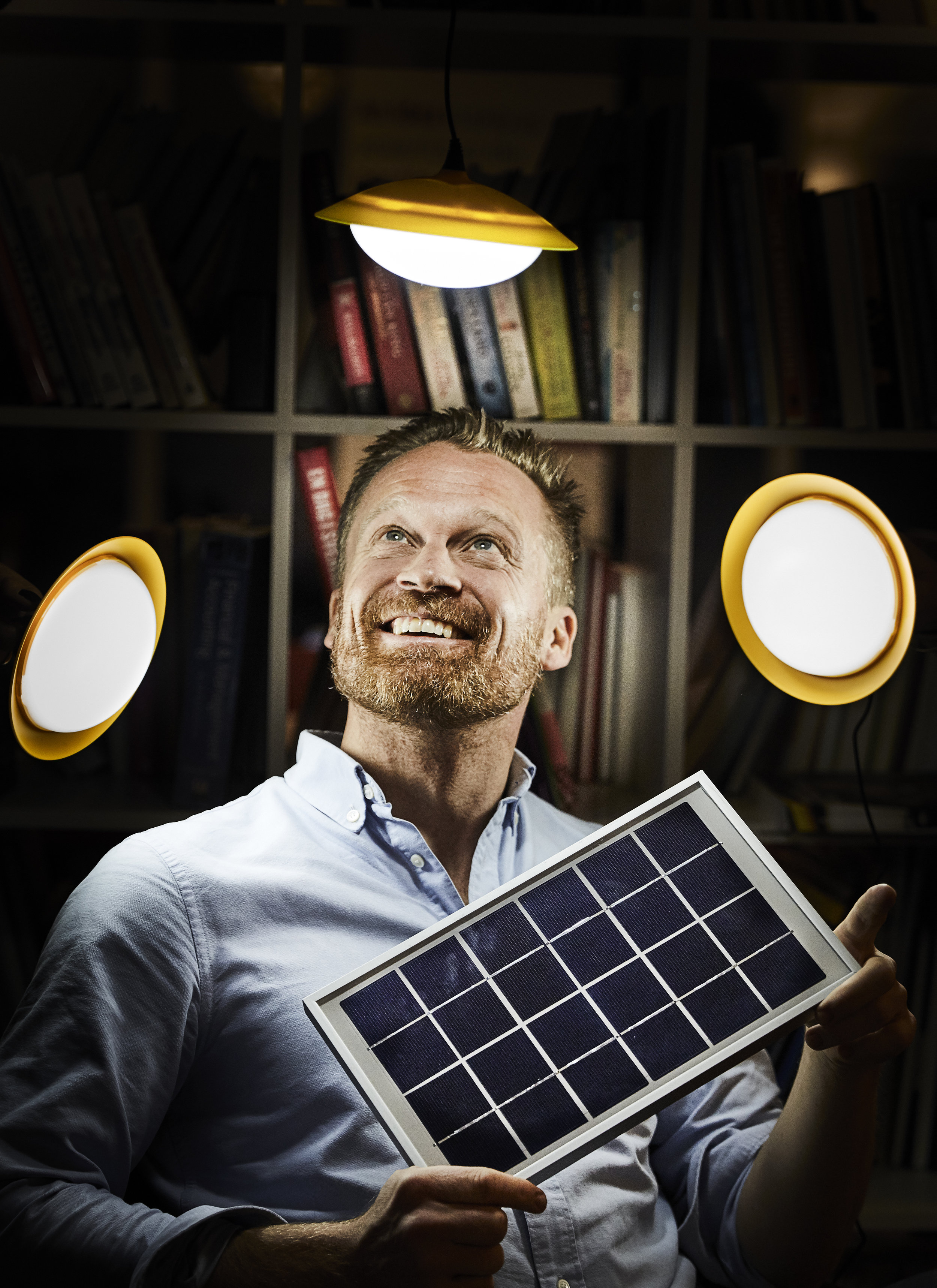 PETTER CLAESSON (co-founder) <br> CEO <br> petter@givewatts.org