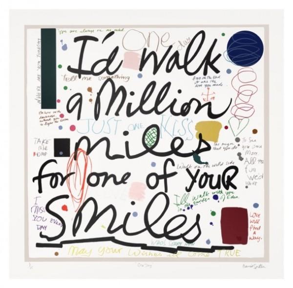 David Spiller One Day (I'd walk a million miles), 2015