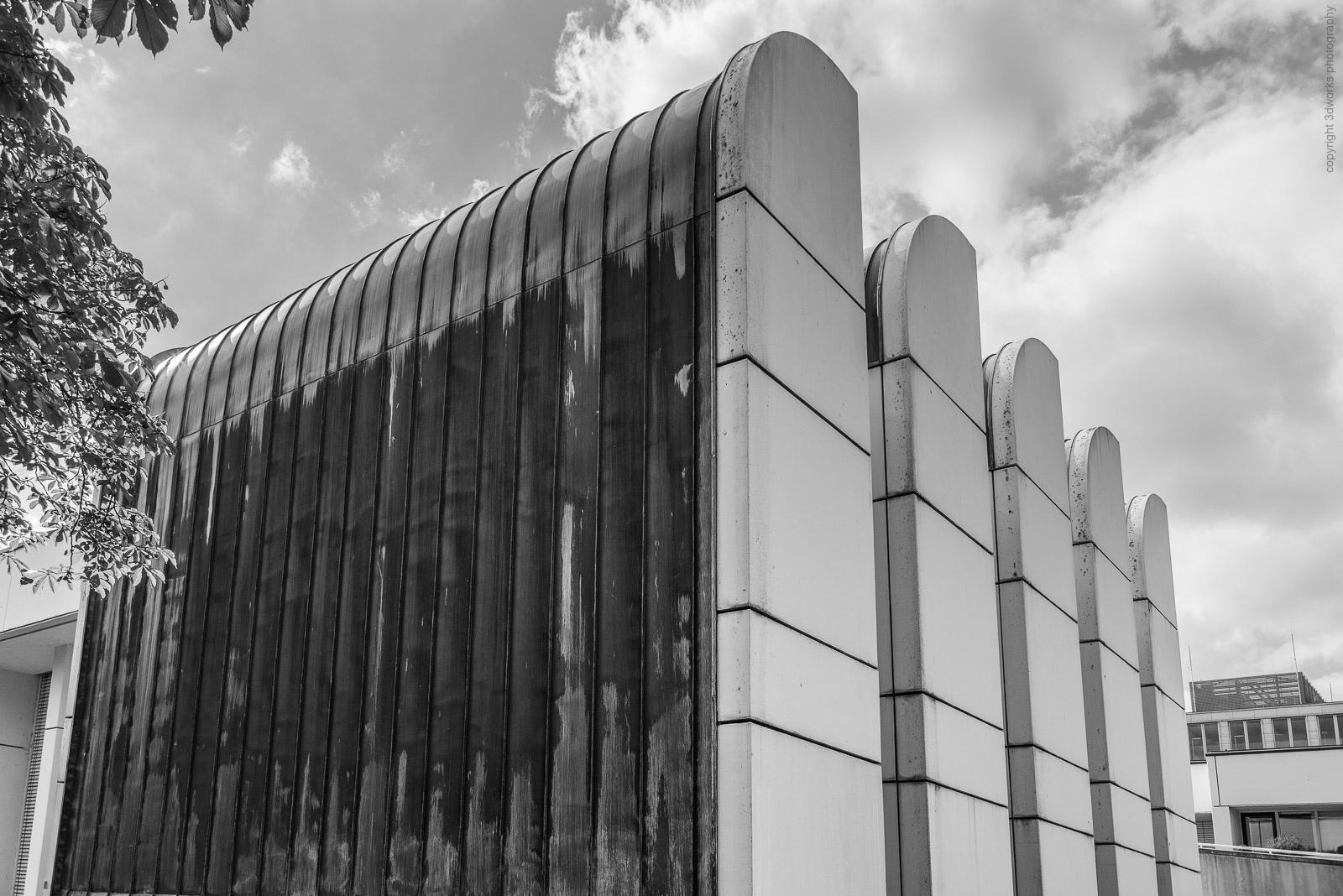 Architekturfotografie, Bauhaus-Archiv, Berlin