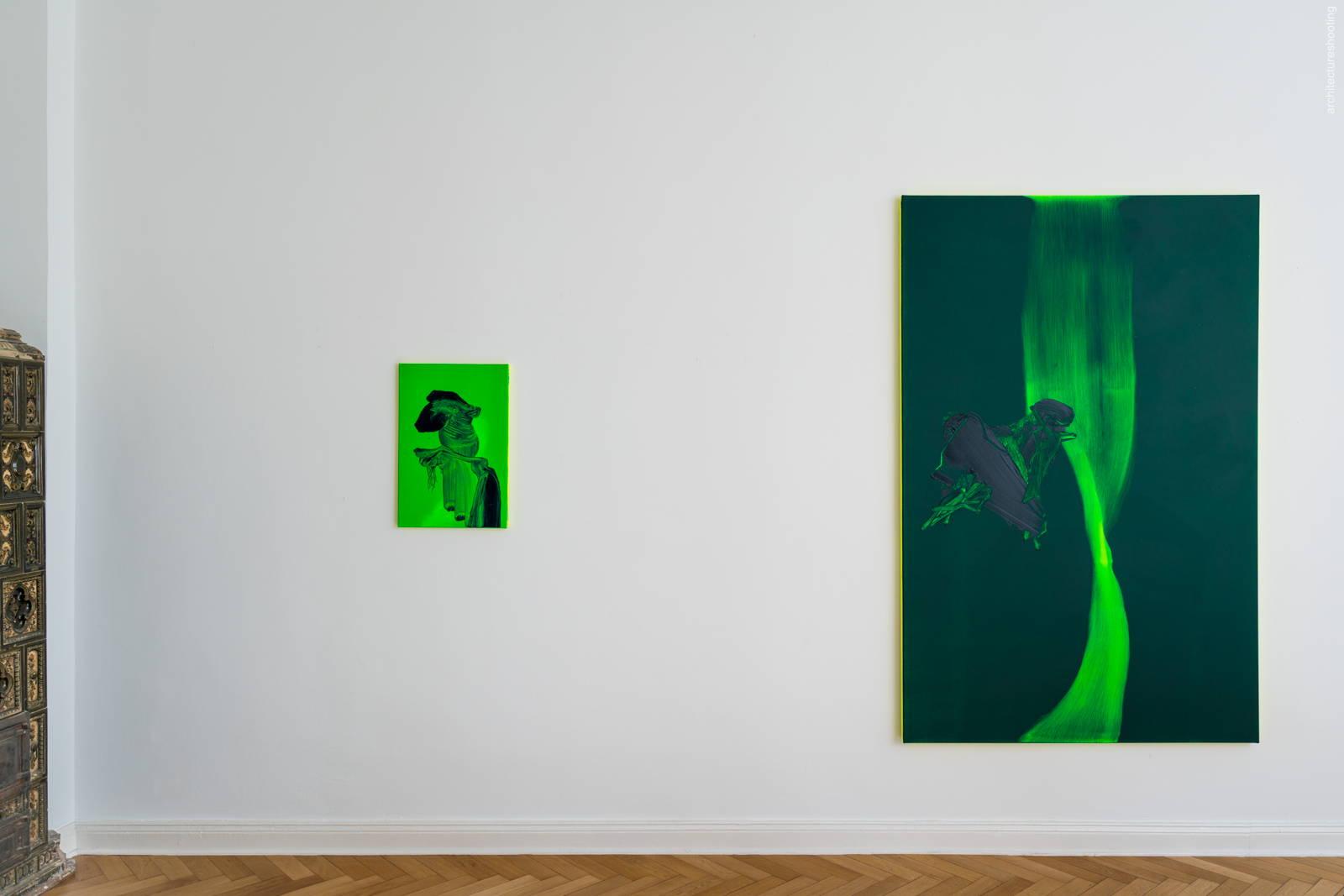 """Daniel Lergon, """"angeregt"""", 2018, Antiquariat Marco Gietmann, Berlin"""