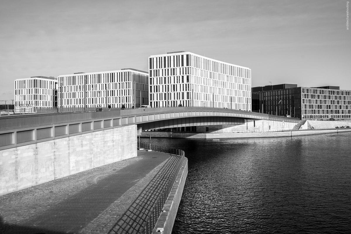 Regierungsviertel, Berlin - urban landscape