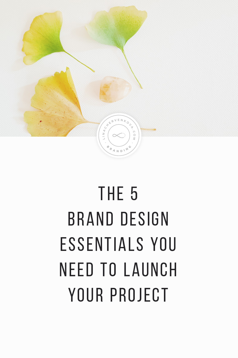 The 5 brand design essentials you need to launch your project