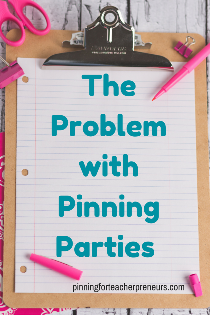 The Problem with Pinning Parties