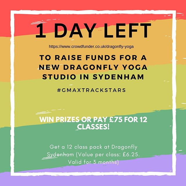 Win prizes or buy 12 classes for £75! (RRP £180). Just 1 day left to help raise funds of a new yoga studio in Sydenham (opening date TBC).⠀ ⠀ 🔗LINK IN BIO⠀ ⠀ #sydenham #se26 #sydenhamarts #crystalpalace #se19 #foresthill #penge #southeastlondon #southlondon #thingstodoinlondon #sydenhamcentre #southlondonevents #selondonarts #SELondoncreative #SElondonliving #supportlocal #thingstodoinsydenham #sydenhamevents #sltcc #yoga #yogastudio #yogacommunity #beginnersyoga #wellness#SE4 #honoroak #croftonpark #ladywell #brockley #londonyoga
