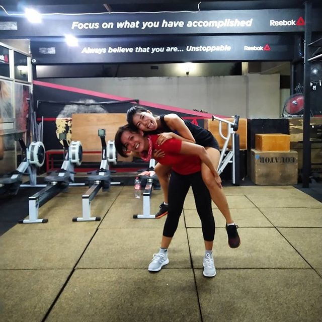 When your client needs extra workout @milabravo 🤪😜😂🤭😉 #havefun  Contact us for more information: ☎ +6281284847199 • • 📍Equator Life Wisma Anugraha (basement) Jl. Taman Kemang No.32B RT 14/ RW 1 Bangka, Mampang Prapatan Jakarta Selatan 12730  #EquatorLife  #KemangTribe #goodvibes #positivevibes #community #workout #fitness #health #healthy #sweat #sweaty