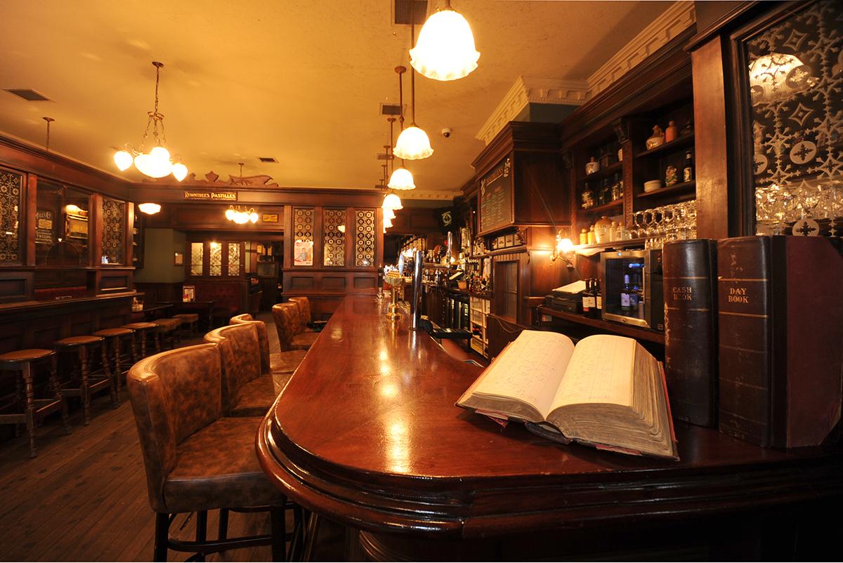 2 Madigans O' Connell Street (Interior Front Bar) ©2015 Mick Langan 007.jpg