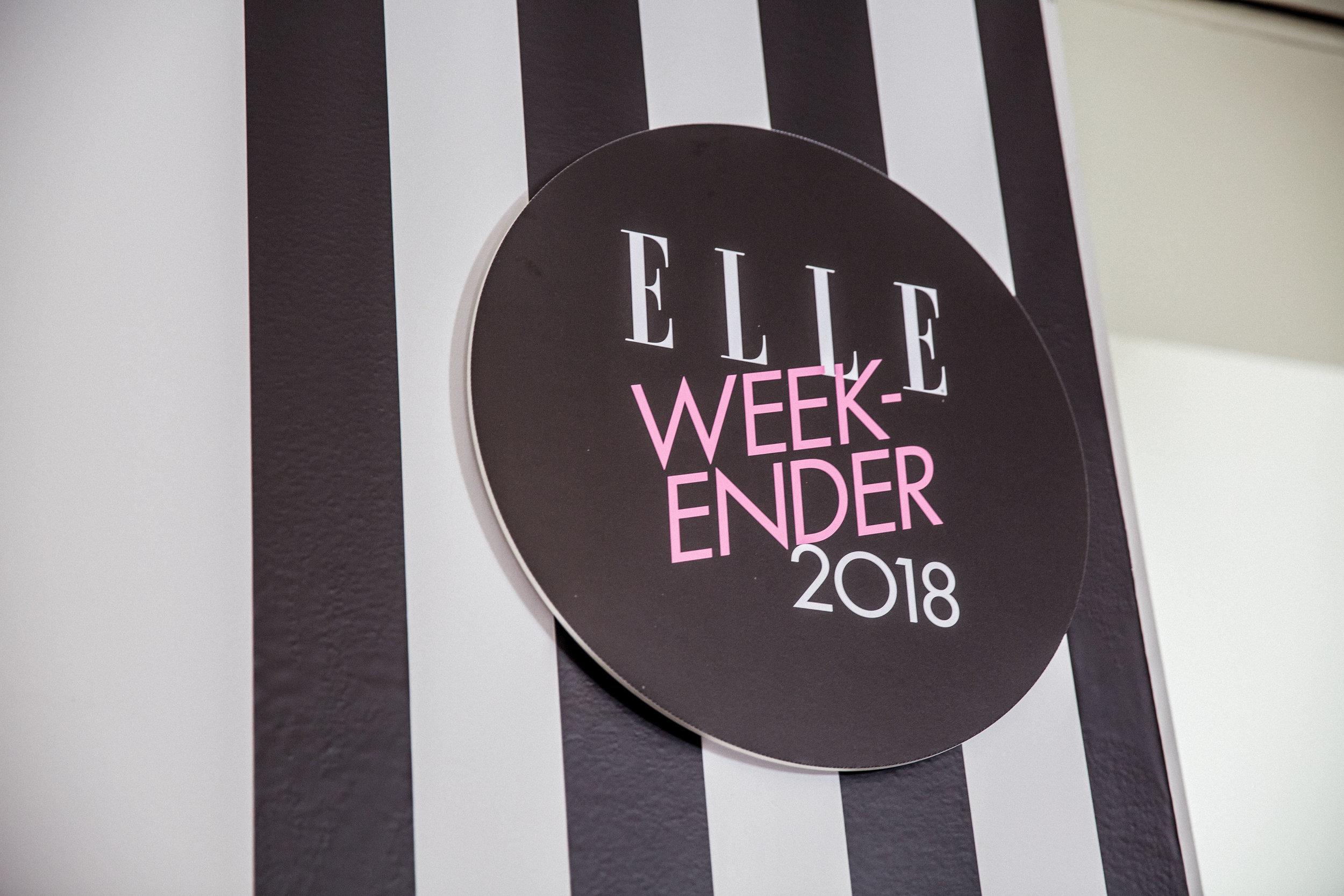 The Elle Weekender 2018 — Raccoon London - Photography Agency