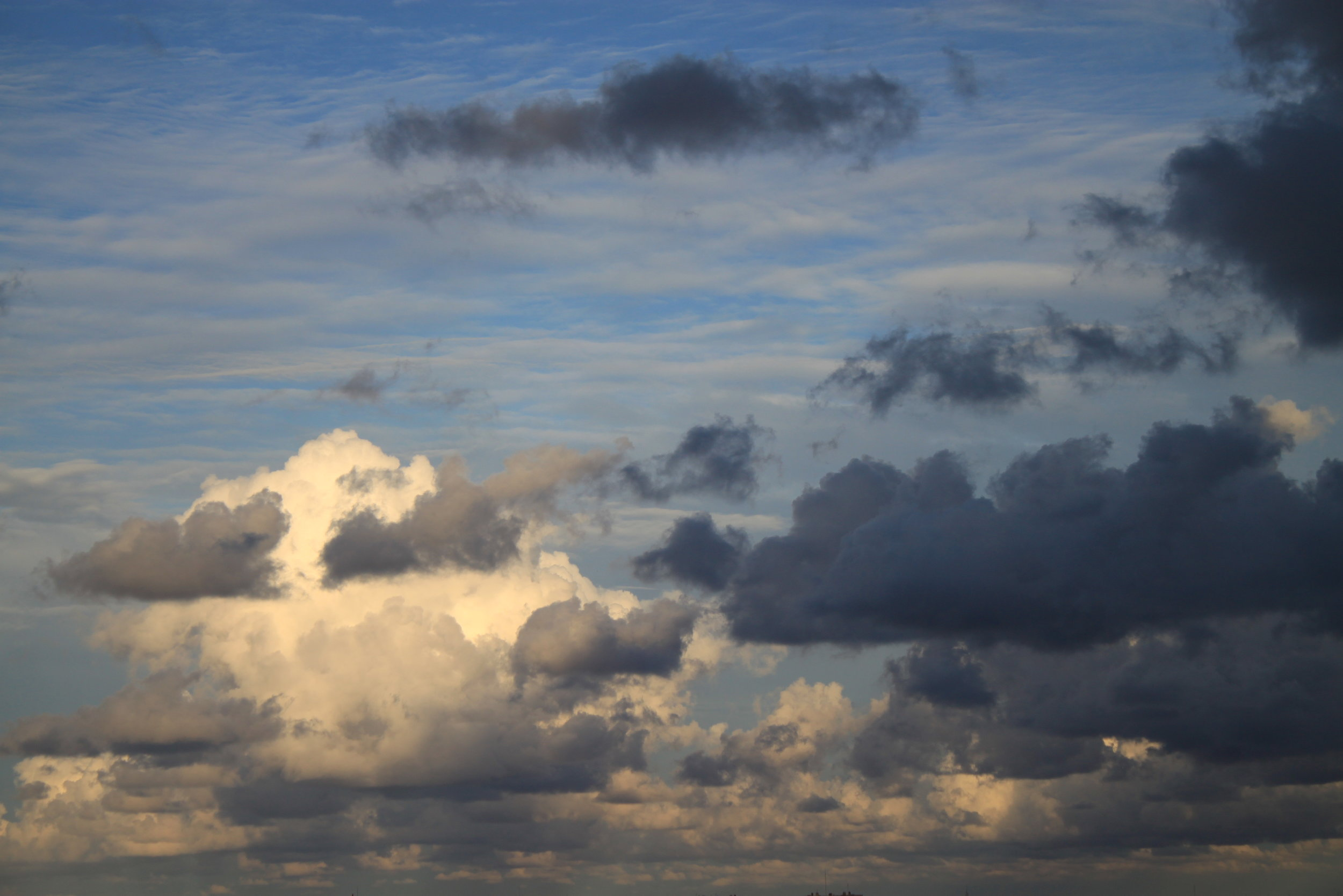 Evening clouds over Valencia