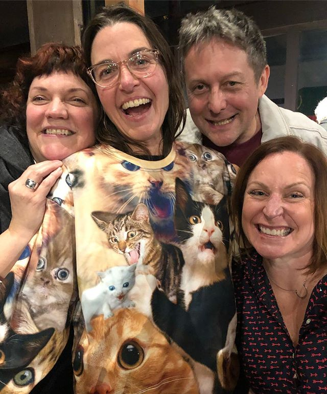 This happened. #catsweaters