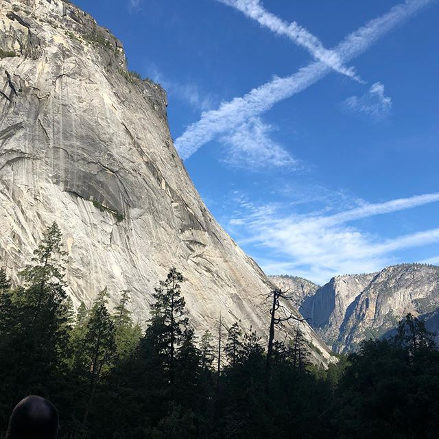 First visit to Yosemite! Epic. So much to see...