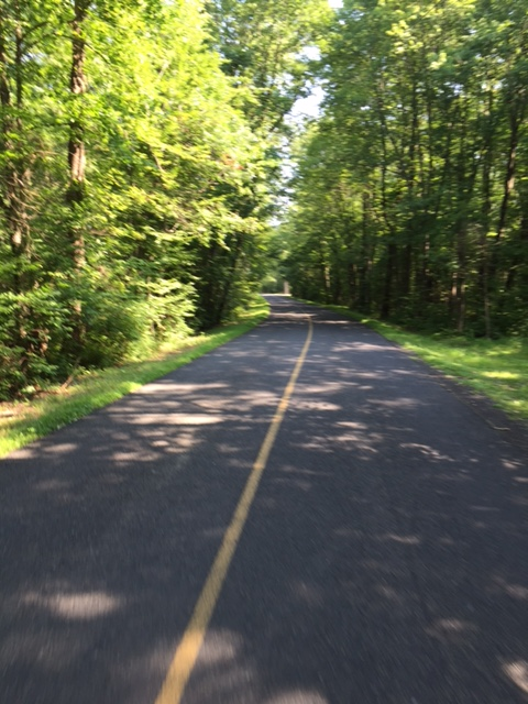 Another example of the peaceful roads near Upper Black Eddy along the Century course. Photo courtesy Mike McHugh.