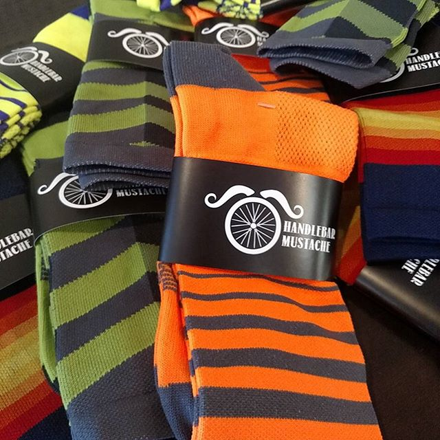 With sock names such as 'Keep Your Powder Dry' and 'Don't Ride Like a Douche,' it'll be easy to match with your team kit.
