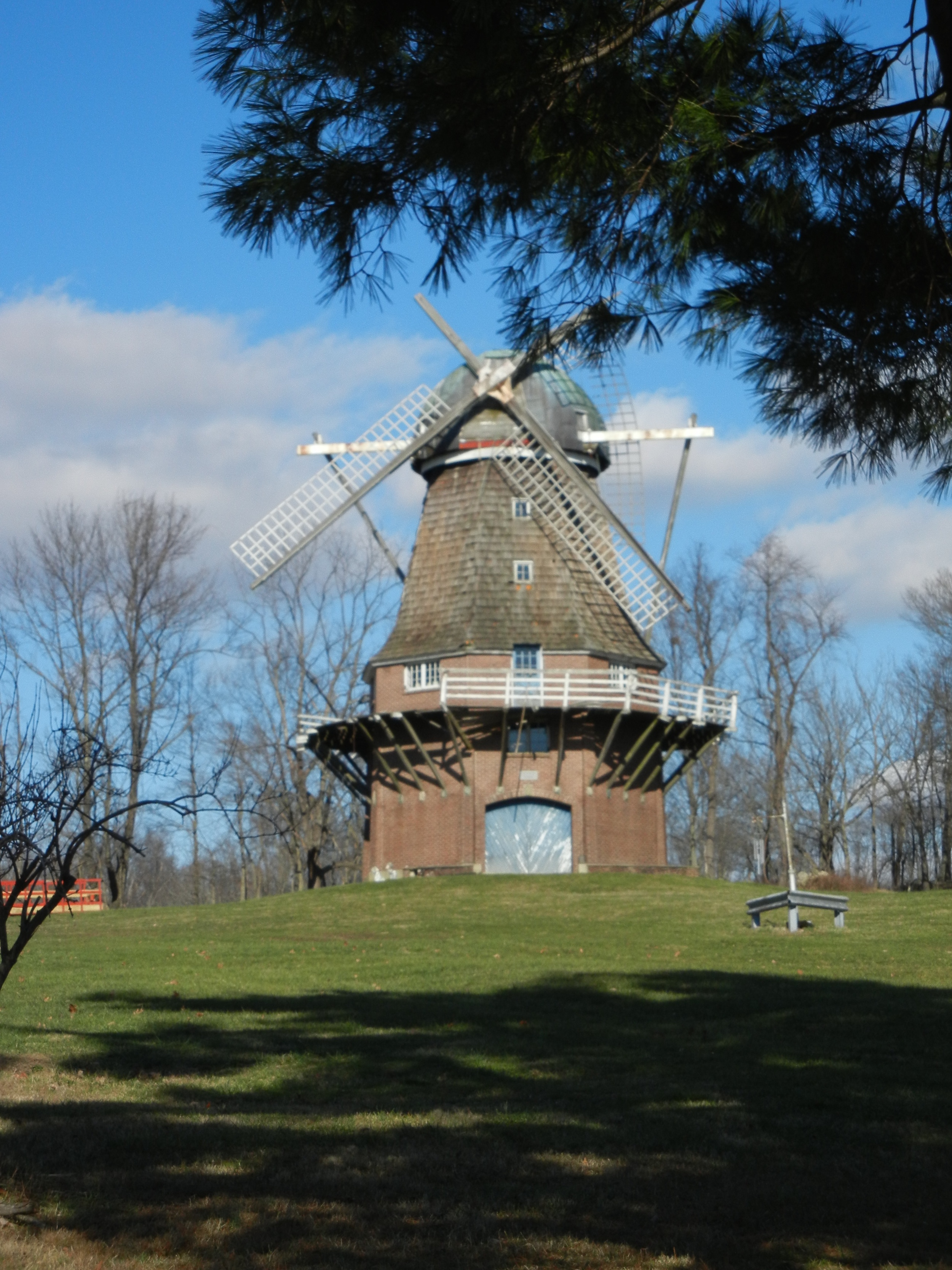 According to several sources, the windmill was damaged in 2007 and has been neglected since.