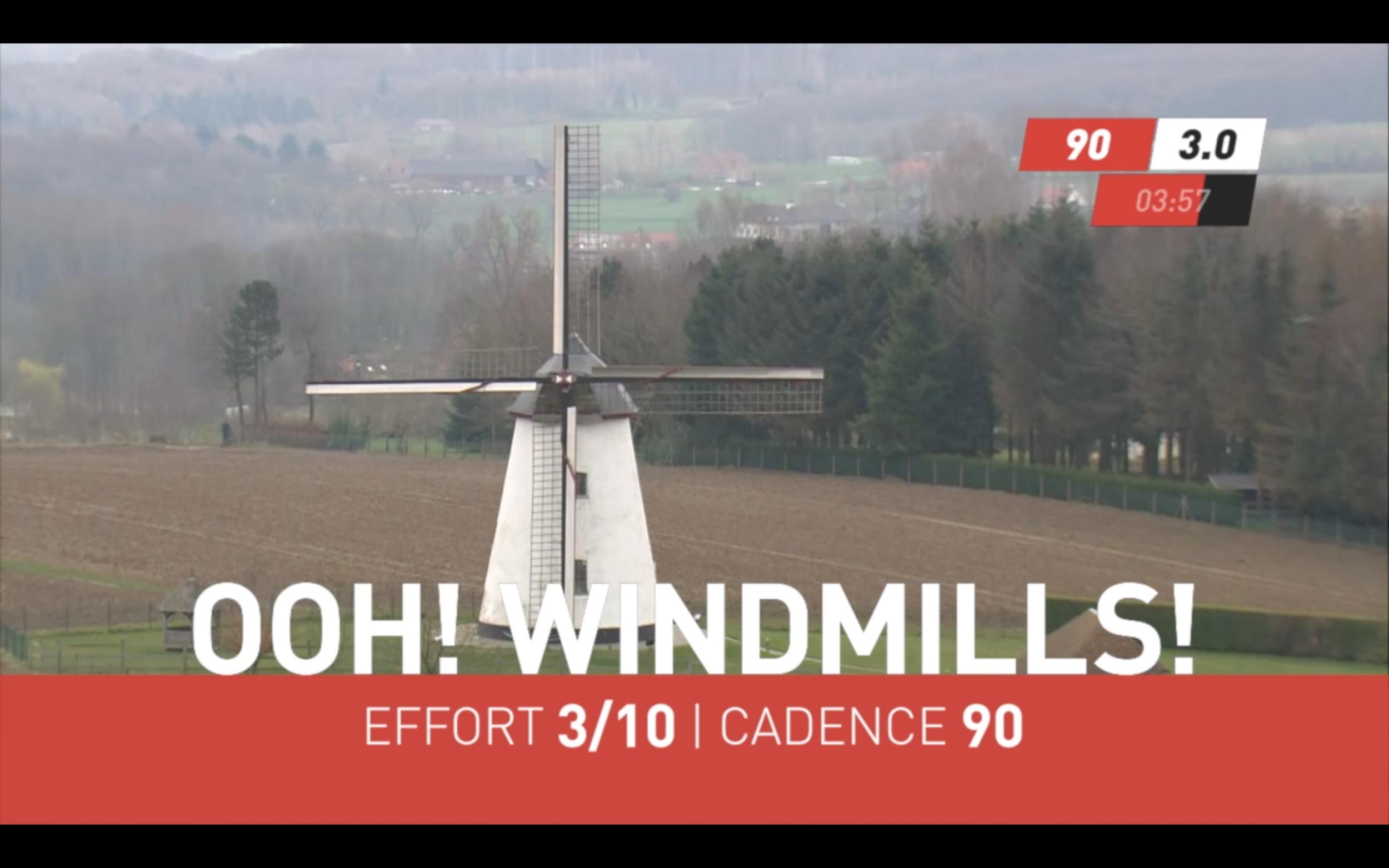 I'm always a sucker for windmills.