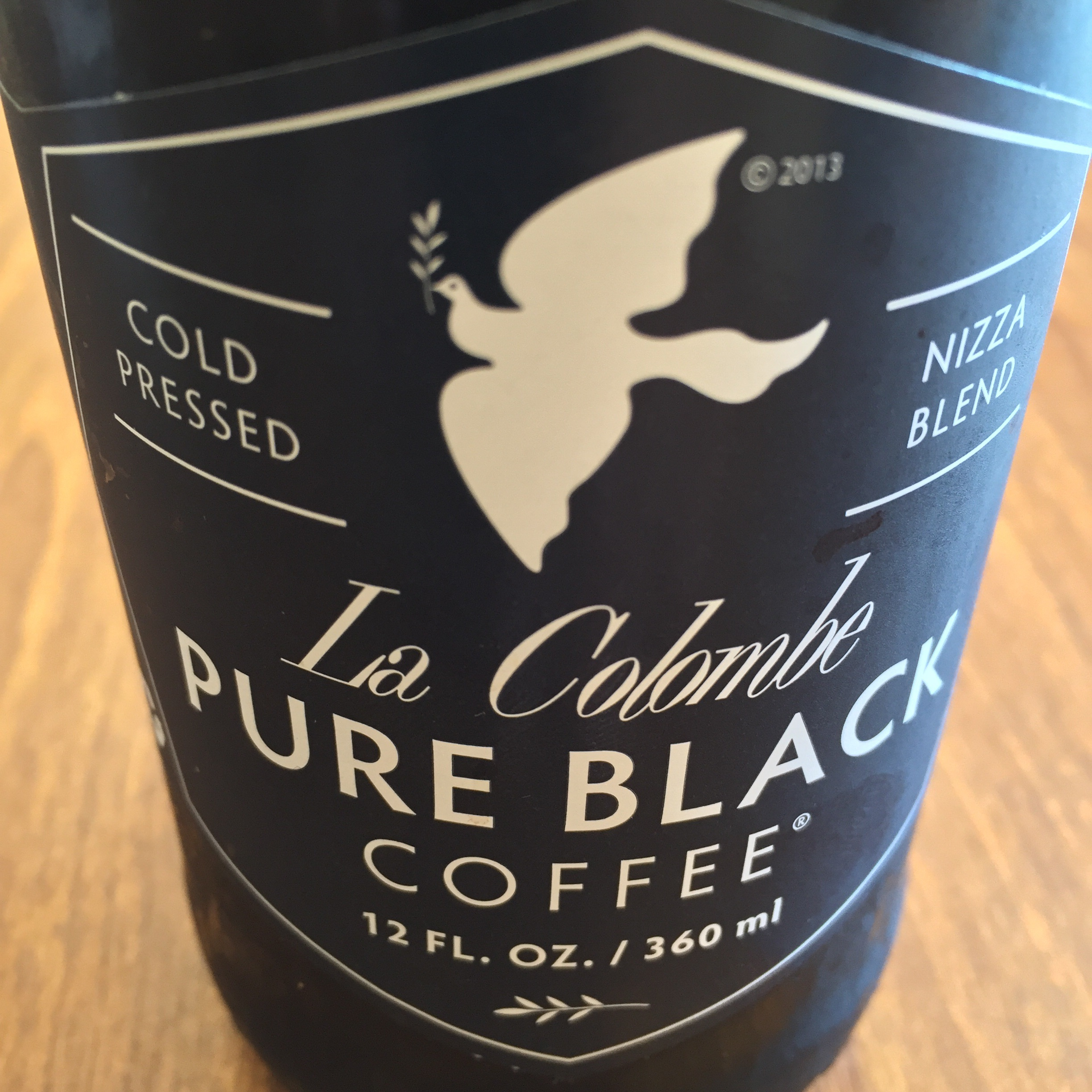 La Colombe's Pure Black is almost as formal as the tuxedo cycling jersey.