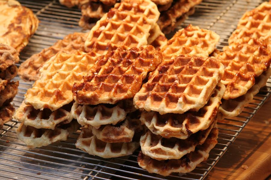 Liege waffles.