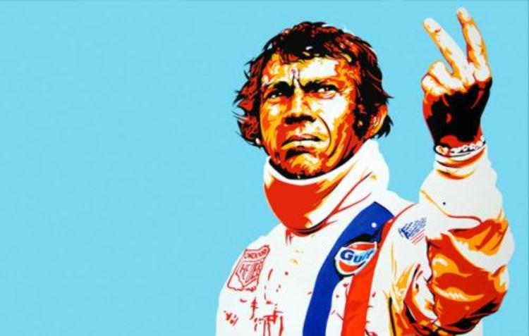 Steve McQueen, one of the greatest endurance racers.