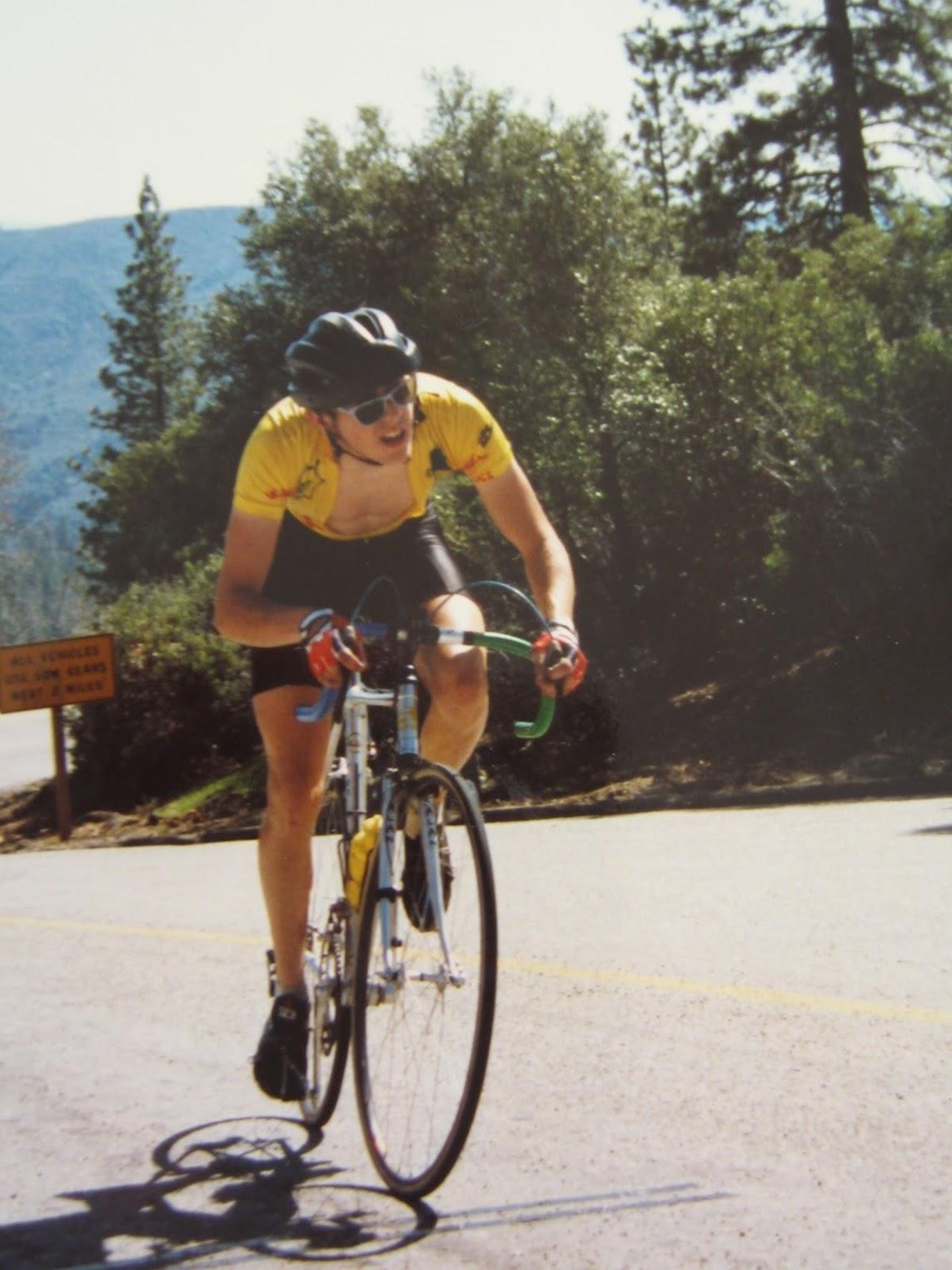 "1988 ""Climb till you yak Hill Climb"" organized by Cal State Fresno"