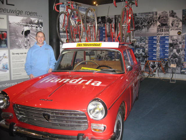 Wondering where Freddy Maertens left the keys at the Ronde van Vlaanderen Museum